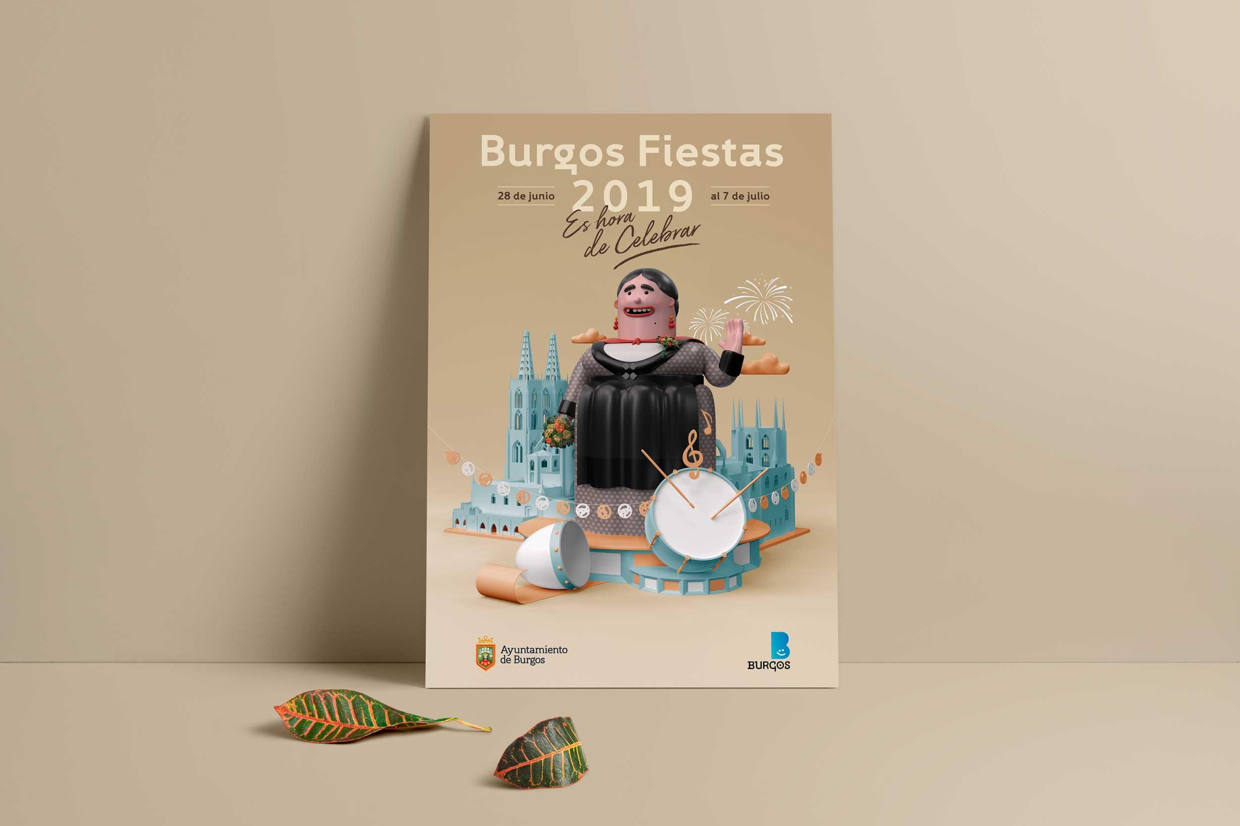 Fiestas-Burgos-2019-poster